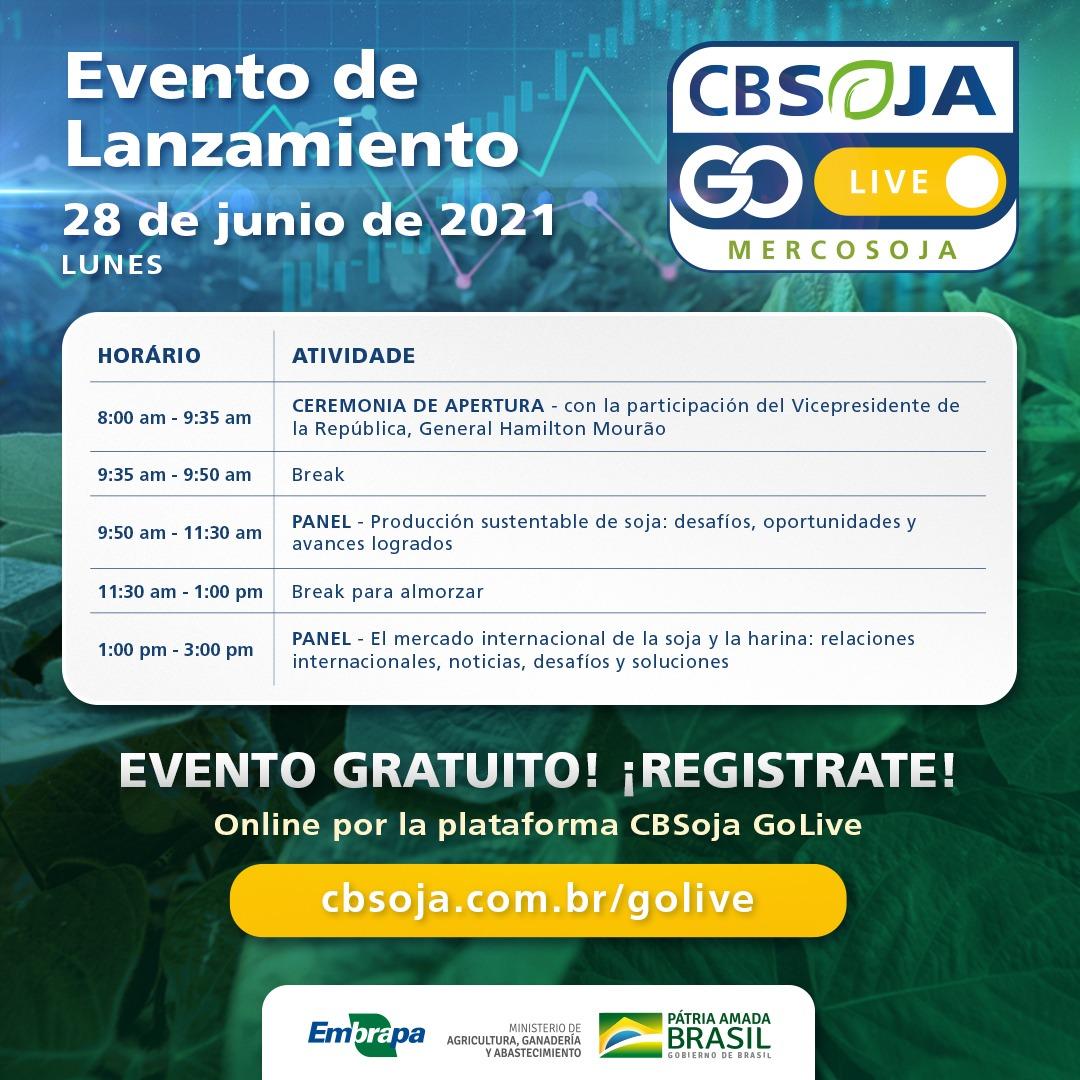 Lanzamiento VIII Congreso Mercosoja – Congreso Brasileño de Soja 2022