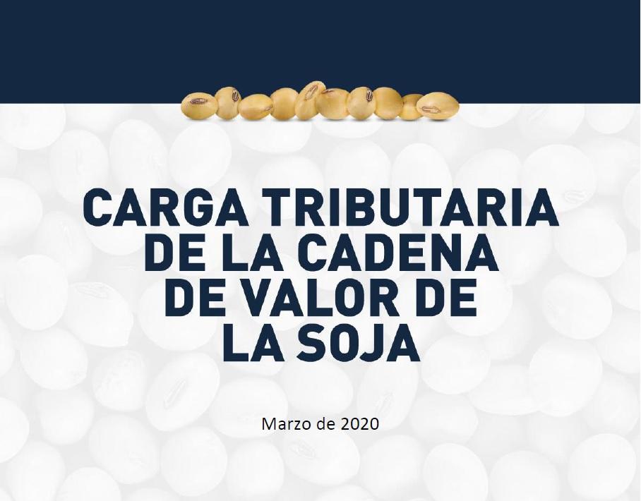 Gacetilla: Presentación del trabajo carga tributaria de la cadena de la soja argentina.