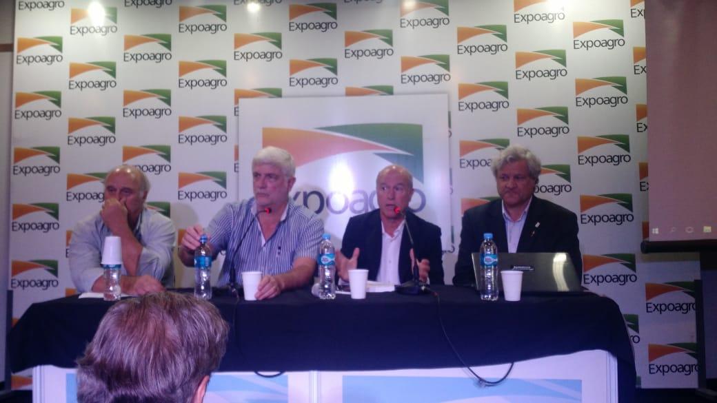 Gacetilla Conferencia de Prensa Cuatro Cadenas de Cultivo en Expoagro 2019.