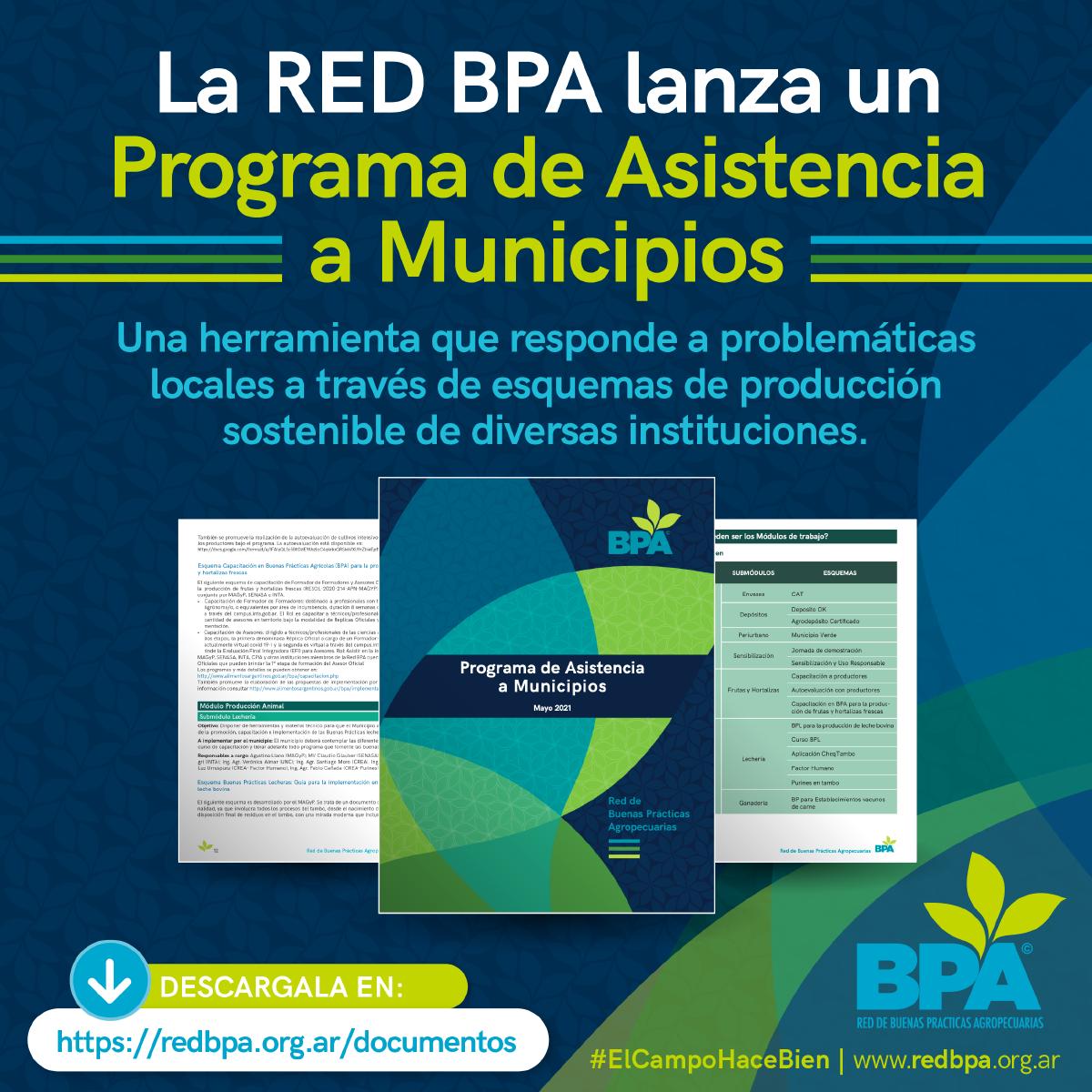 La Red BPA lanza un Programa de Asistencia a Municipios